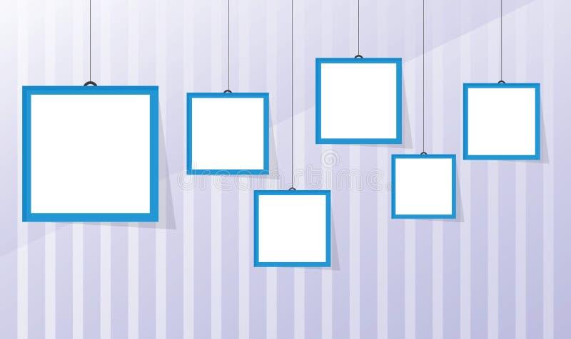 Photo frame royalty free illustration