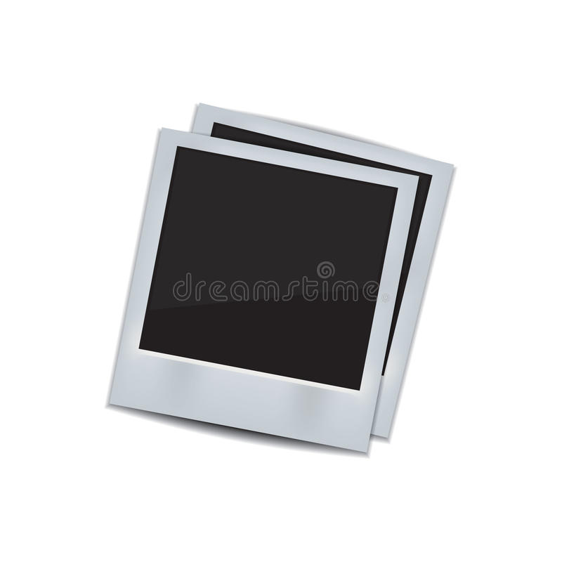 Download Photo Frame On White Background Stock Vector - Illustration of card, camera: 43285273