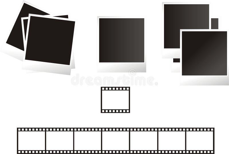 Photo frames stock illustration