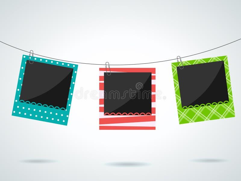 Photo frames vector illustration