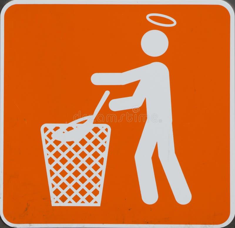 Photo gentille au sujet du nettoyage photos stock