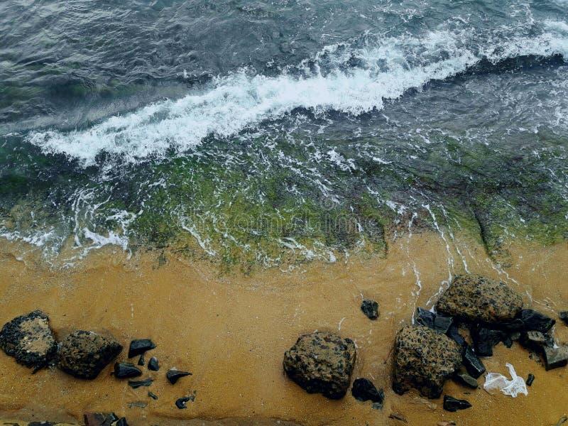 Gold Face Beach Sri Lanka royalty free stock photo
