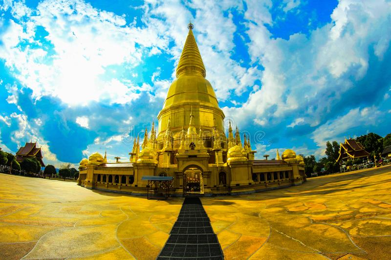 Photo of Gold Temple royalty free stock image