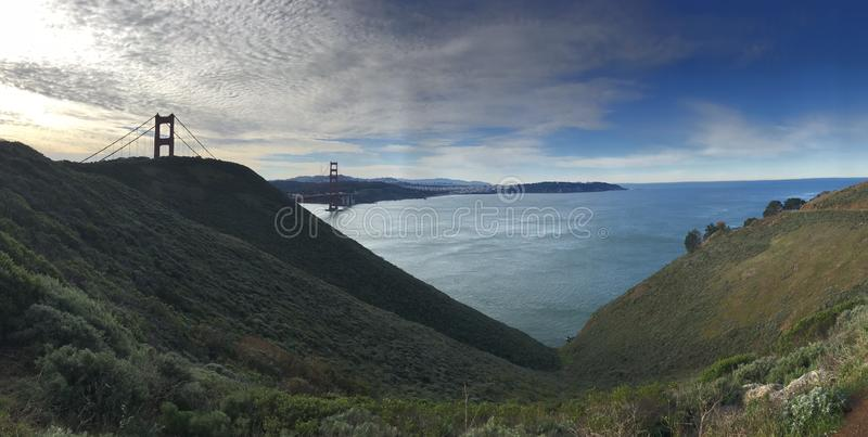 Photo of the Golden Gate Bridge royalty free stock image