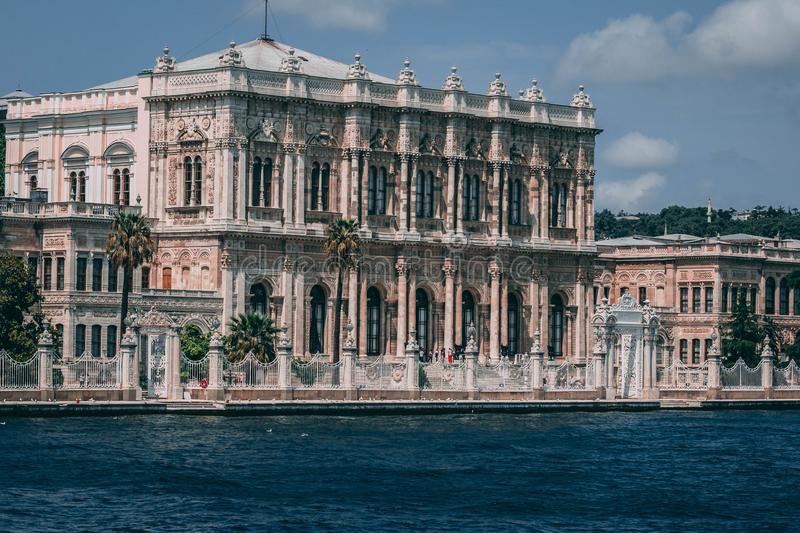 Photo of Gothic Building Near Body of Water royalty free stock photos