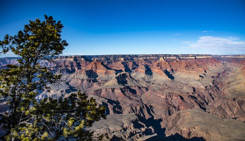 Photo of Grand Canyon taken in January 2020 stock photography