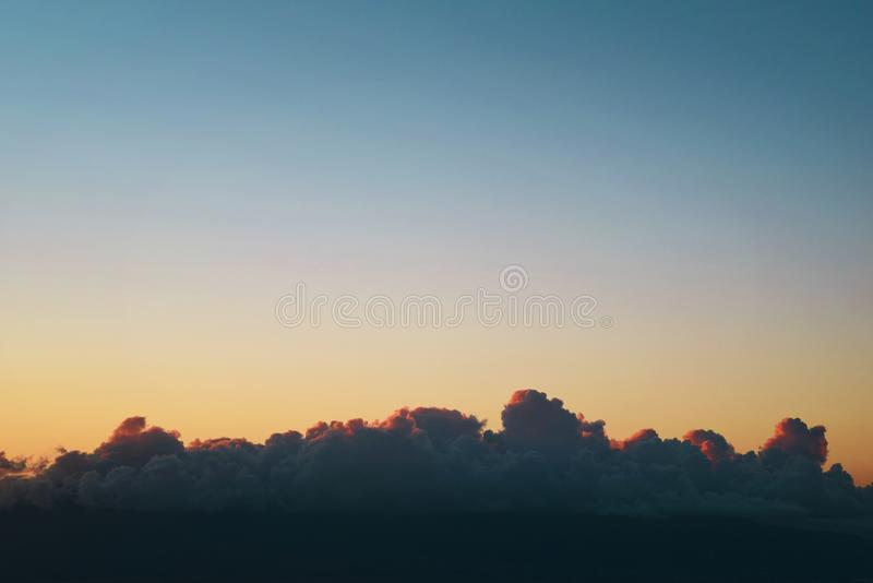 Photo of Gray Heavy Clouds stock photo