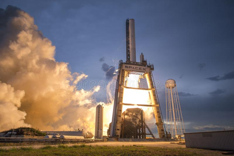 Photo of Gray and White Spacex Space Shuttle stock photos