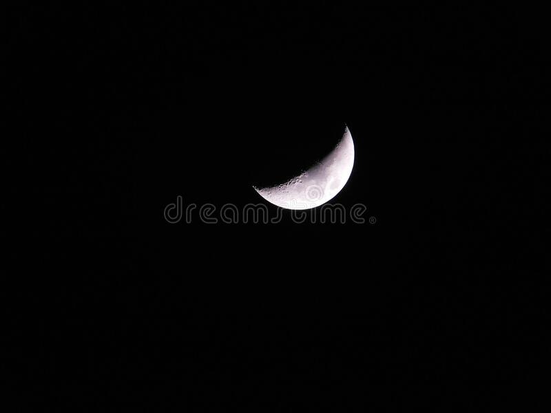 Photo Of Half Moon Free Public Domain Cc0 Image