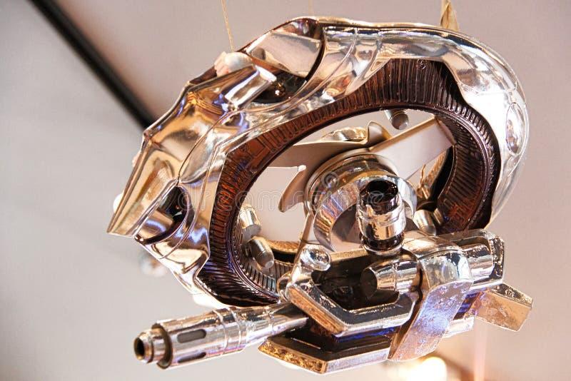 Photo of the Hunter Killer Mini from the Terminator 3D stock image