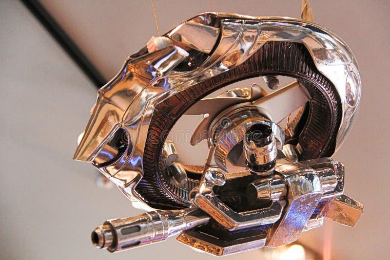 Photo of the Hunter Killer Mini from the Terminator 3D stock photos