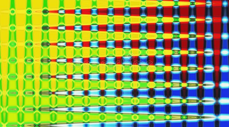 Background wallpaper image colour grid fabric sonic interference wave wavelength sound. Photo ideal background of sonic wave interference wavelength pattern vector illustration