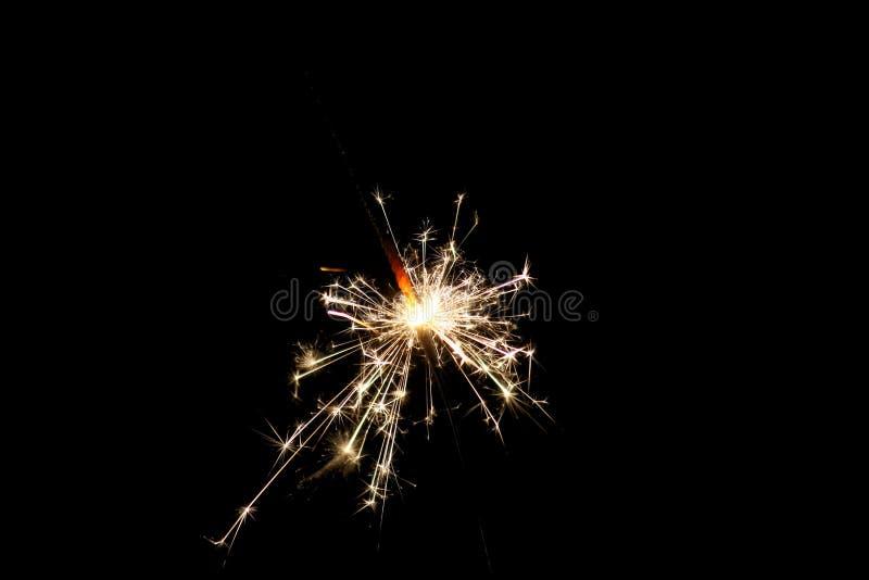 Photo of Illuminated Sparklers royalty free stock photography