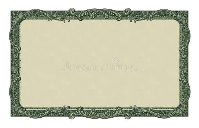 Frontière d'argent photos libres de droits