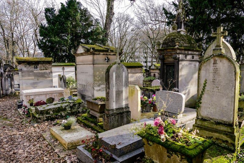 Tomb Cimetiere Du Pere Lachaise Editorial Photo - Image of