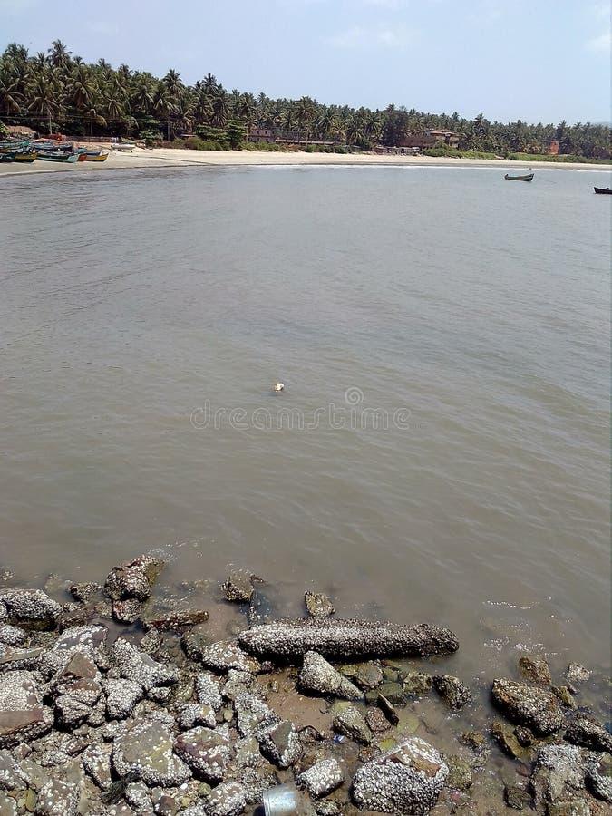 Photo impressionnante de vue de mer photographie stock libre de droits