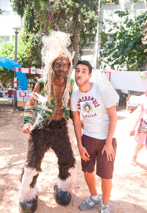Download Photo With An Indian At Pride Parade Editorial Stock Image - Image: 31510274