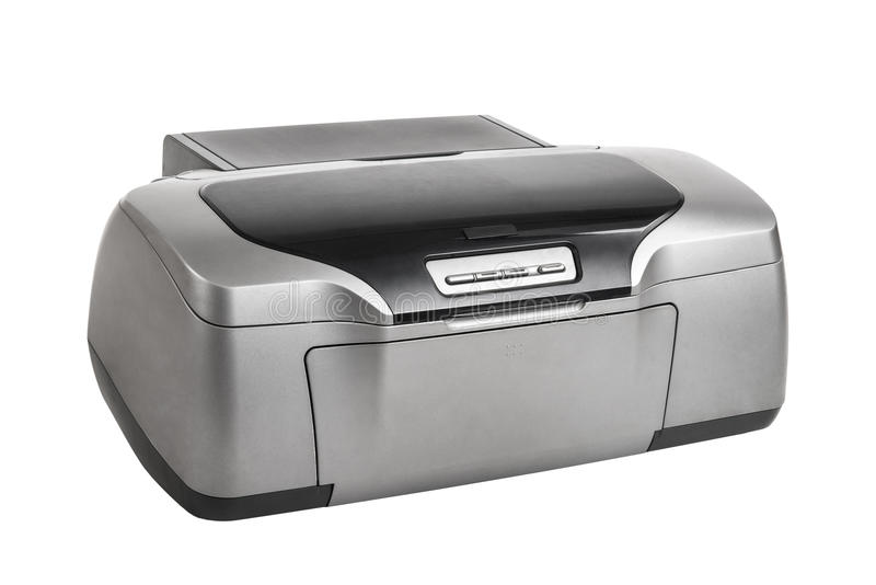 Photo inkjet printer stock photography