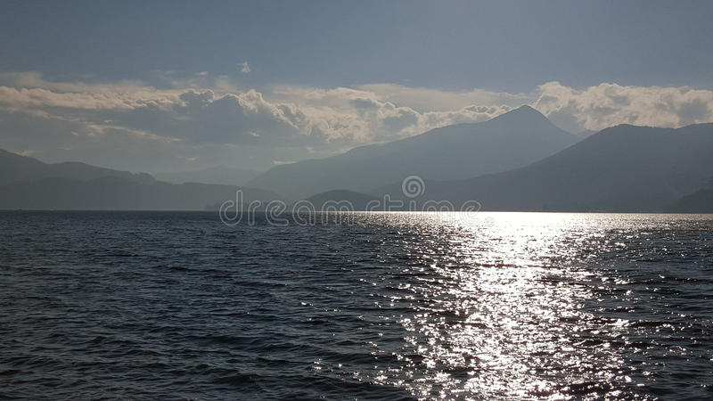 Photo of a lake royalty free stock images