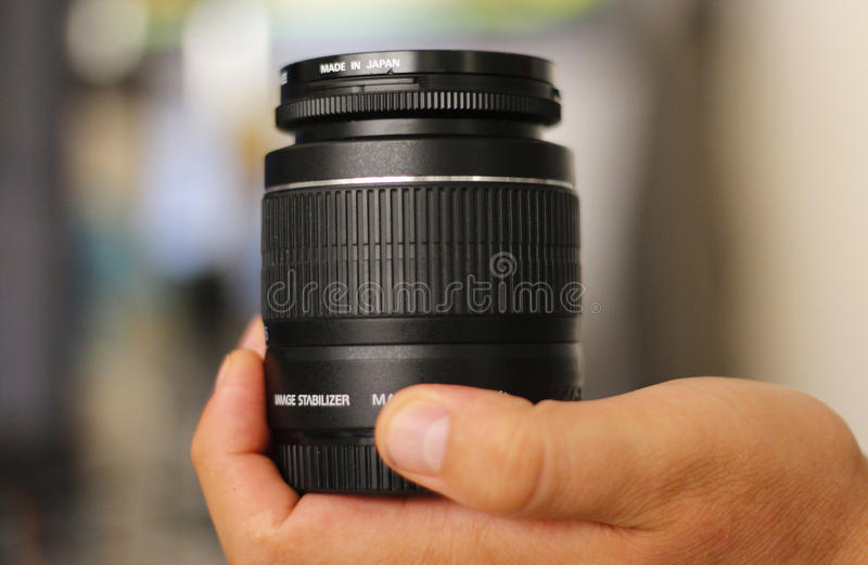Photo lens royalty free stock image