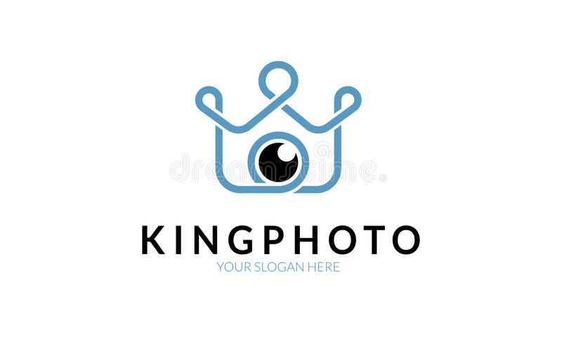 Photo Logo Template国王 库存图片