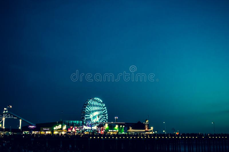 Photo of London's Eye during Nighttime royalty free stock photography