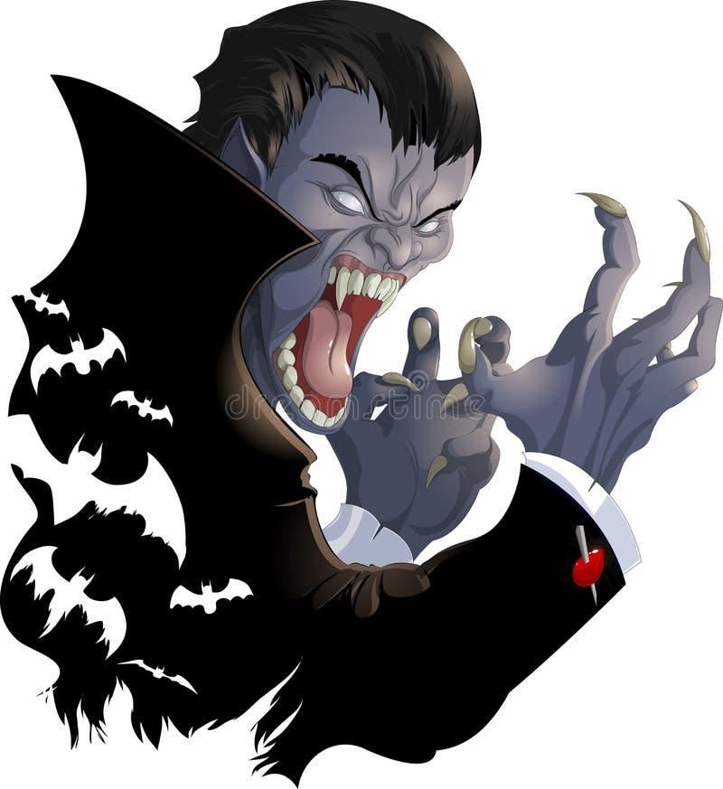 Photo mauvaise de vampire photos stock