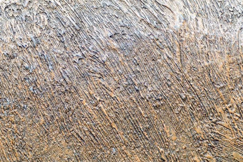 Photo of mettalic texture painted in copper and black royalty free stock image