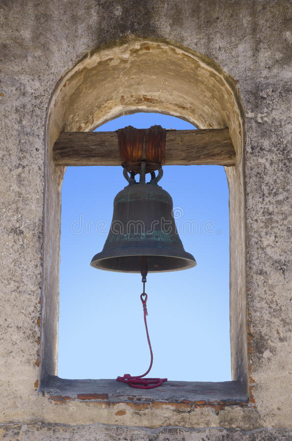Mission Bell stock photography