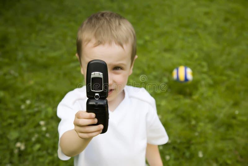 Photo mobile photographie stock