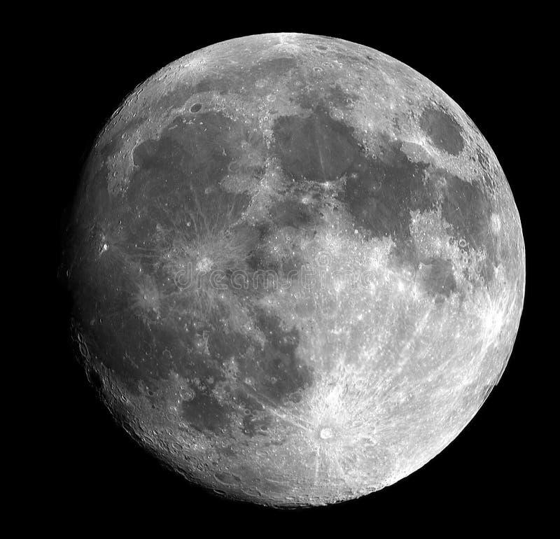 Photo of Moon royalty free stock photography