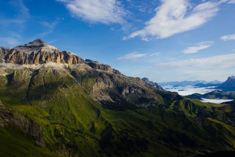 A photo of a mountain stock image