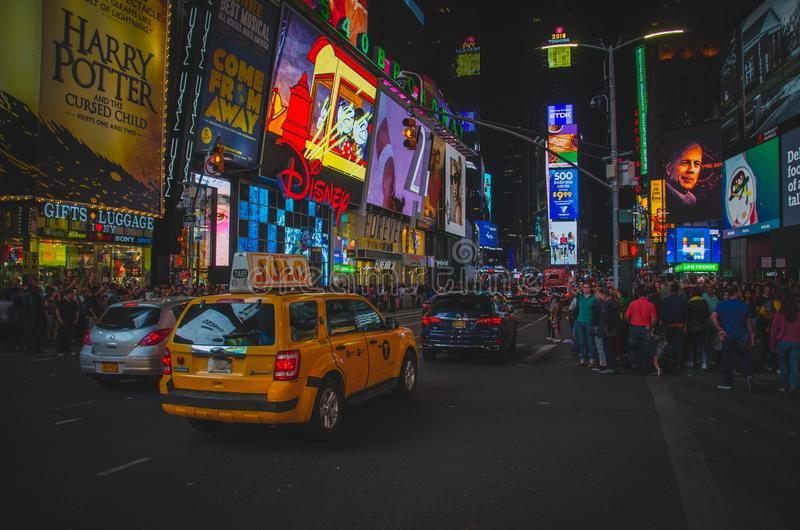 Photo of New York Times Square Street royalty free stock photo