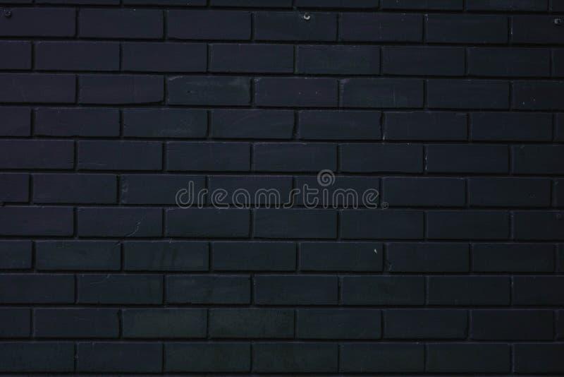 photo noire d'abrégé sur mur de briques de texture de mur photographie stock libre de droits