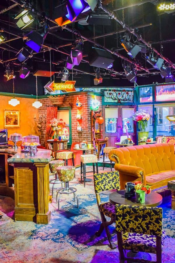 Free Photo Of Warner Bros Inside Views. Studio Tour Hollywood, VIP TOUR. Set Lego City Movie, Superman Suit, Decorations, Studio Frien Royalty Free Stock Photos - 72735528