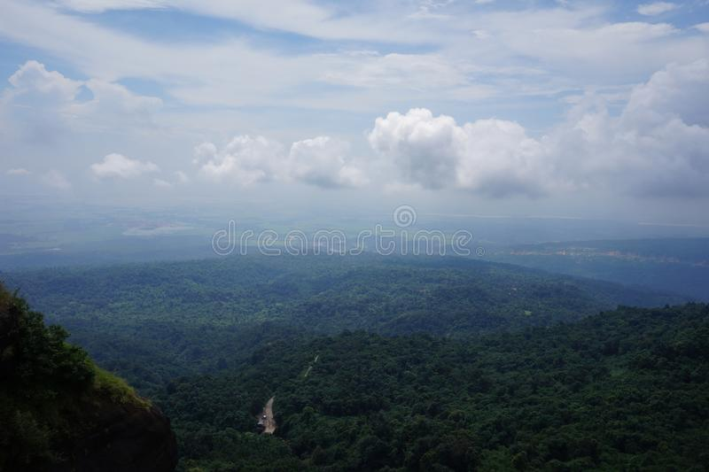 Cherapunjee Shillong India. Photo of one beautiful place in Chherapunjee Shillong India beautiful nature Bangladesh view from Cherrapunjee royalty free stock photos