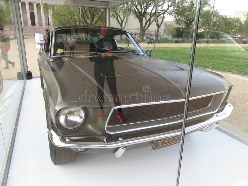 Original Hollywood Movie Ford Mustang Fastback Bullitt Car stock images