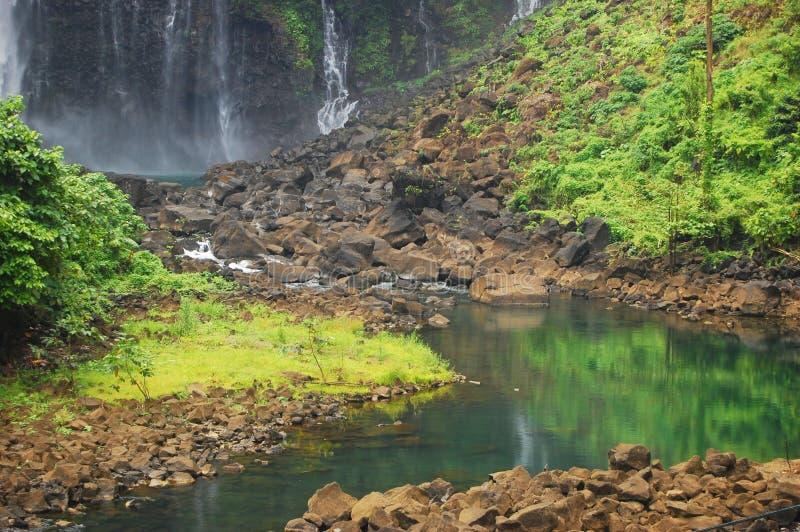 Photo paisible de fleuve images libres de droits