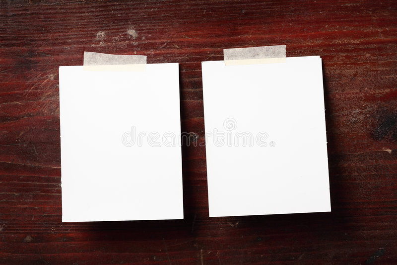 Photo paper stock image