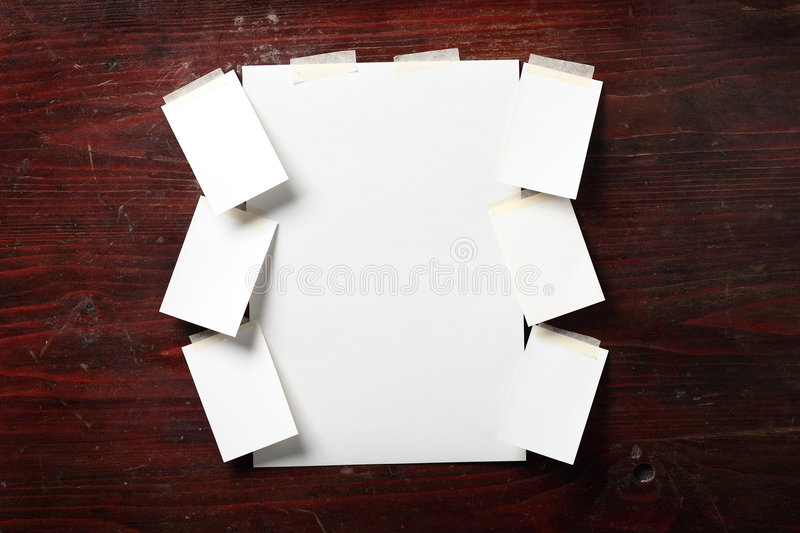 Photo paper royalty free stock photography