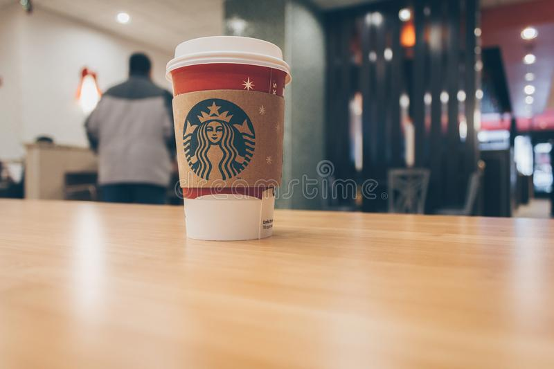 Photo of Paper Cup on Top of the Table stock images