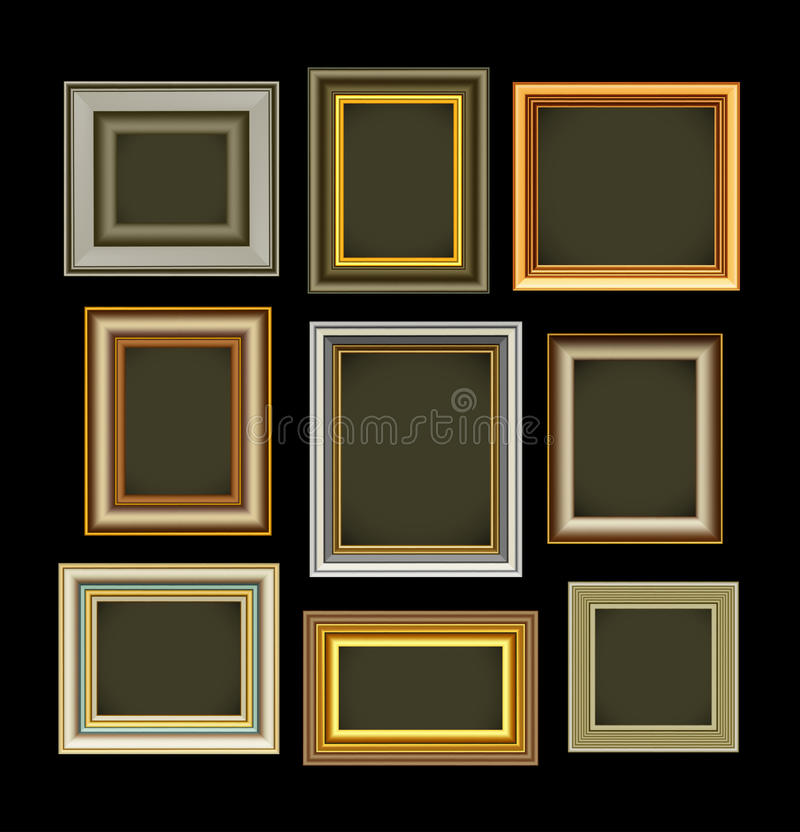 Download Photo Picture Frames Vintage Stock Vector - Illustration: 24699661