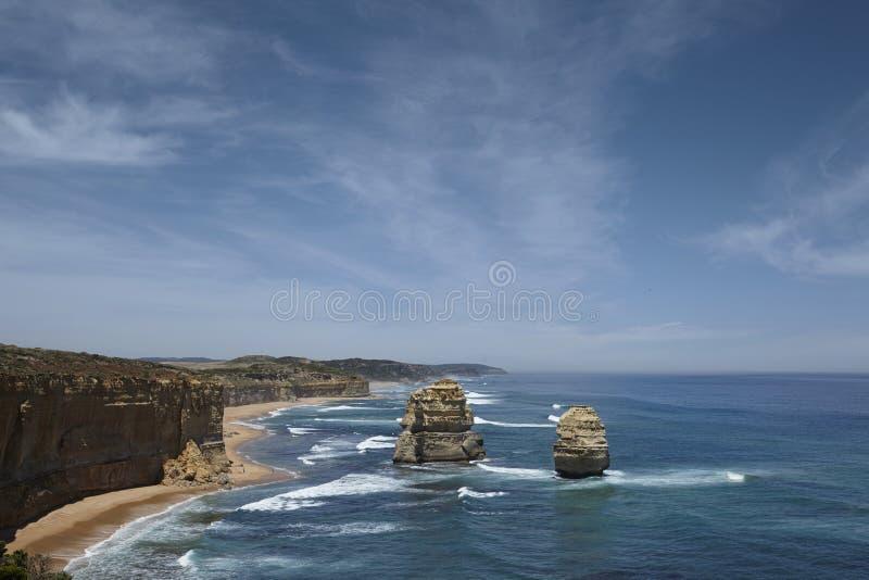 Photo pittoresque des douze apôtres, Australie image stock