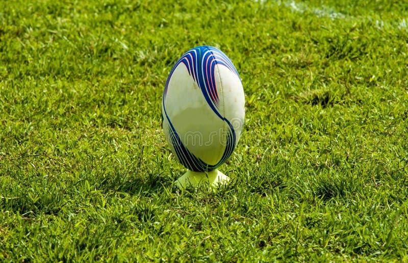 Photo prise à la formation de rugby photographie stock libre de droits