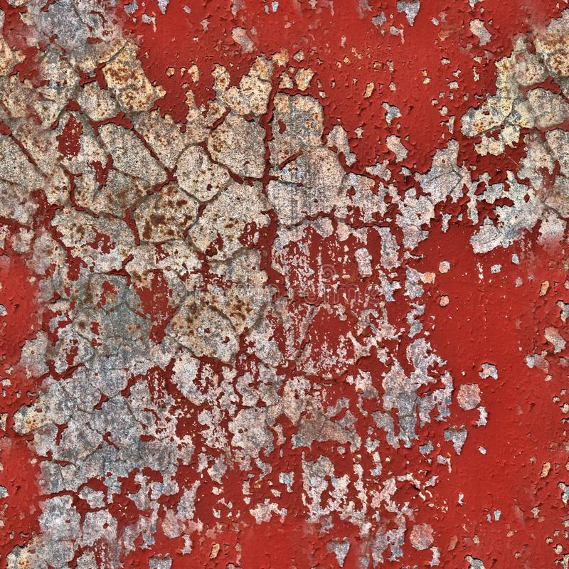 Photo realistic seemless texture pattern of colorful peeling paint on conrete walls. Found in europe royalty free stock images