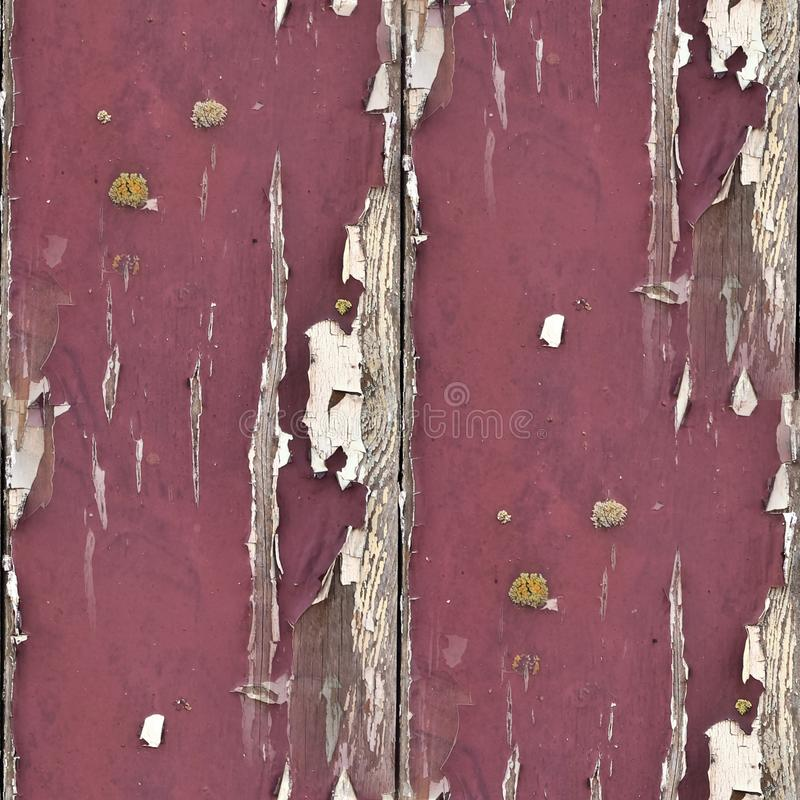 Photo realistic seemless texture pattern of colorful peeling paint on conrete walls. Found in europe royalty free stock photography