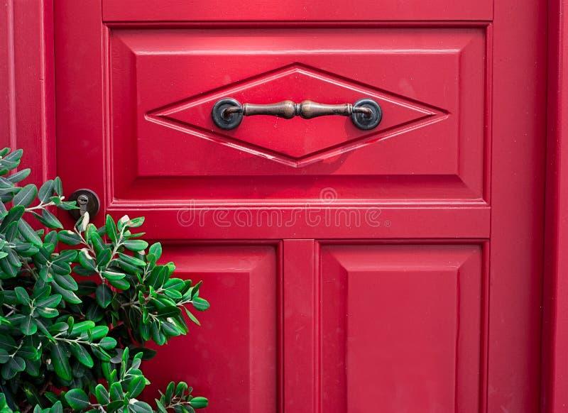 Photo of Red Door stock photo