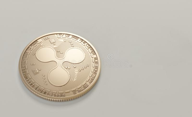 Photo of Round Gold-colored Coin stock images
