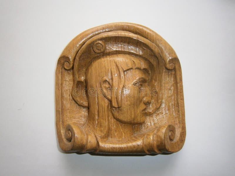 Photo sculptural miniatures `Hamlet`. stock image