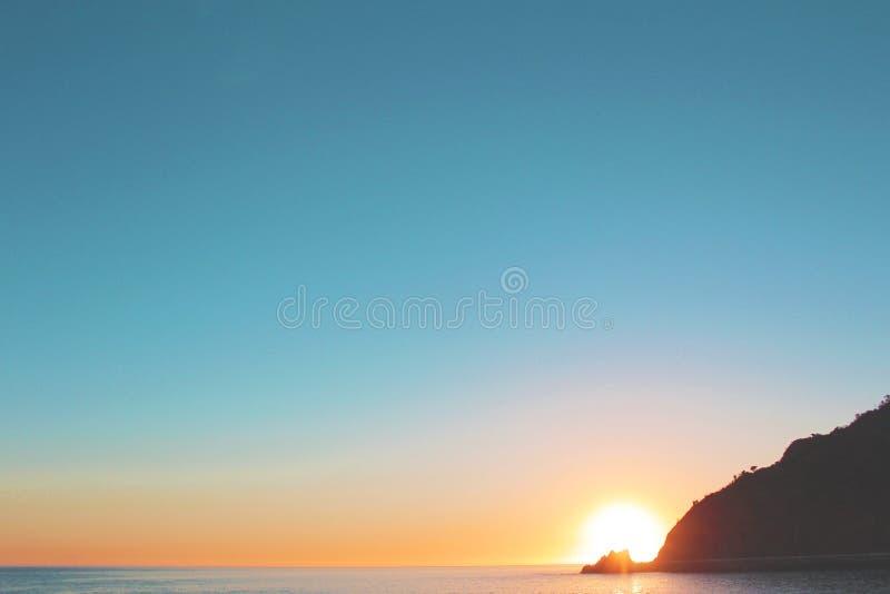 Photo of Sea on Sunrise stock photography